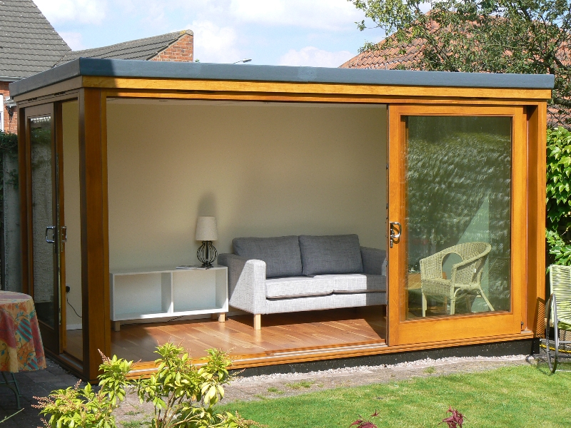 Garden rooms brinard joinery for Garden office ideas uk