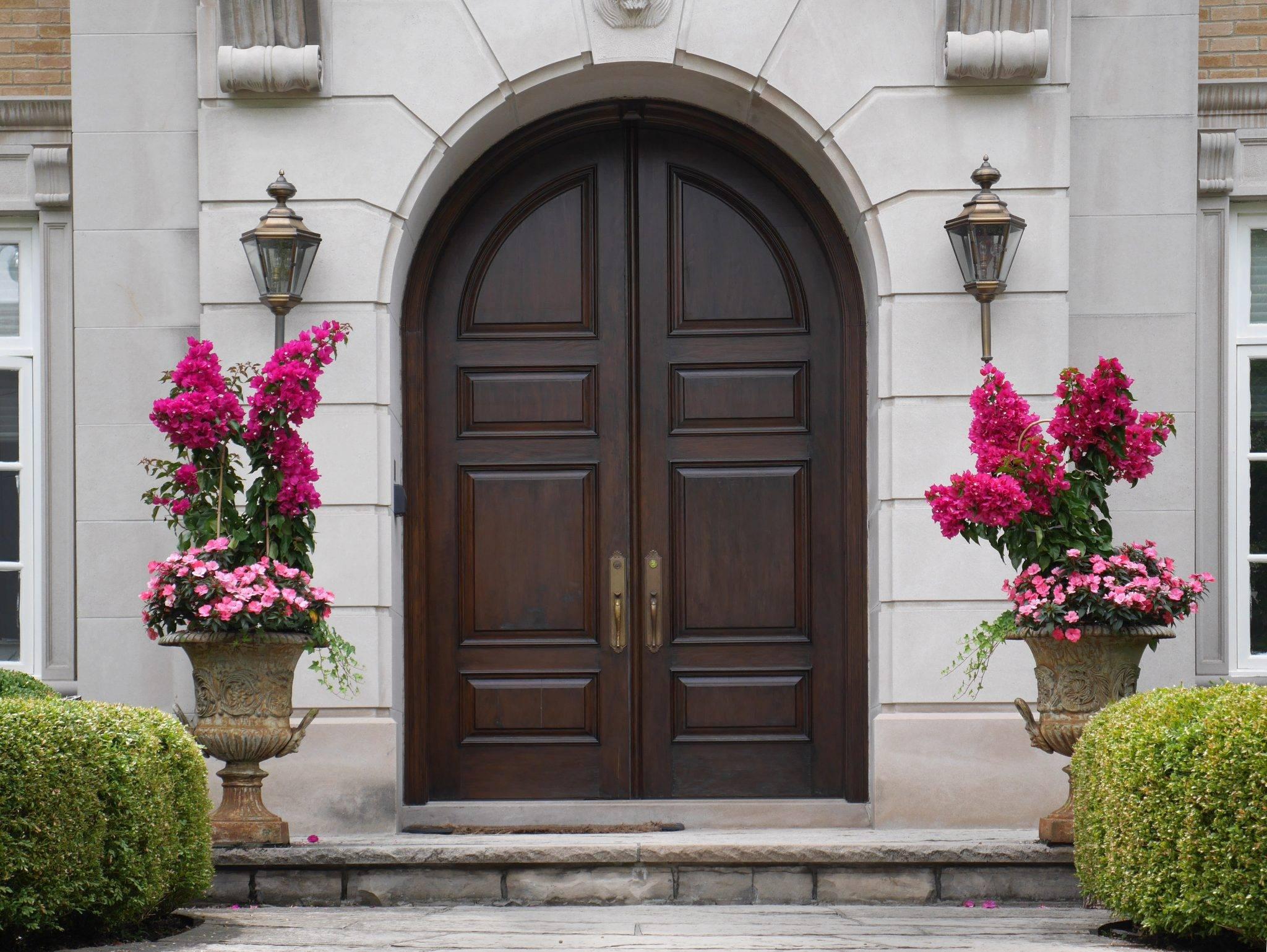 external wooden doors in Chesterfield