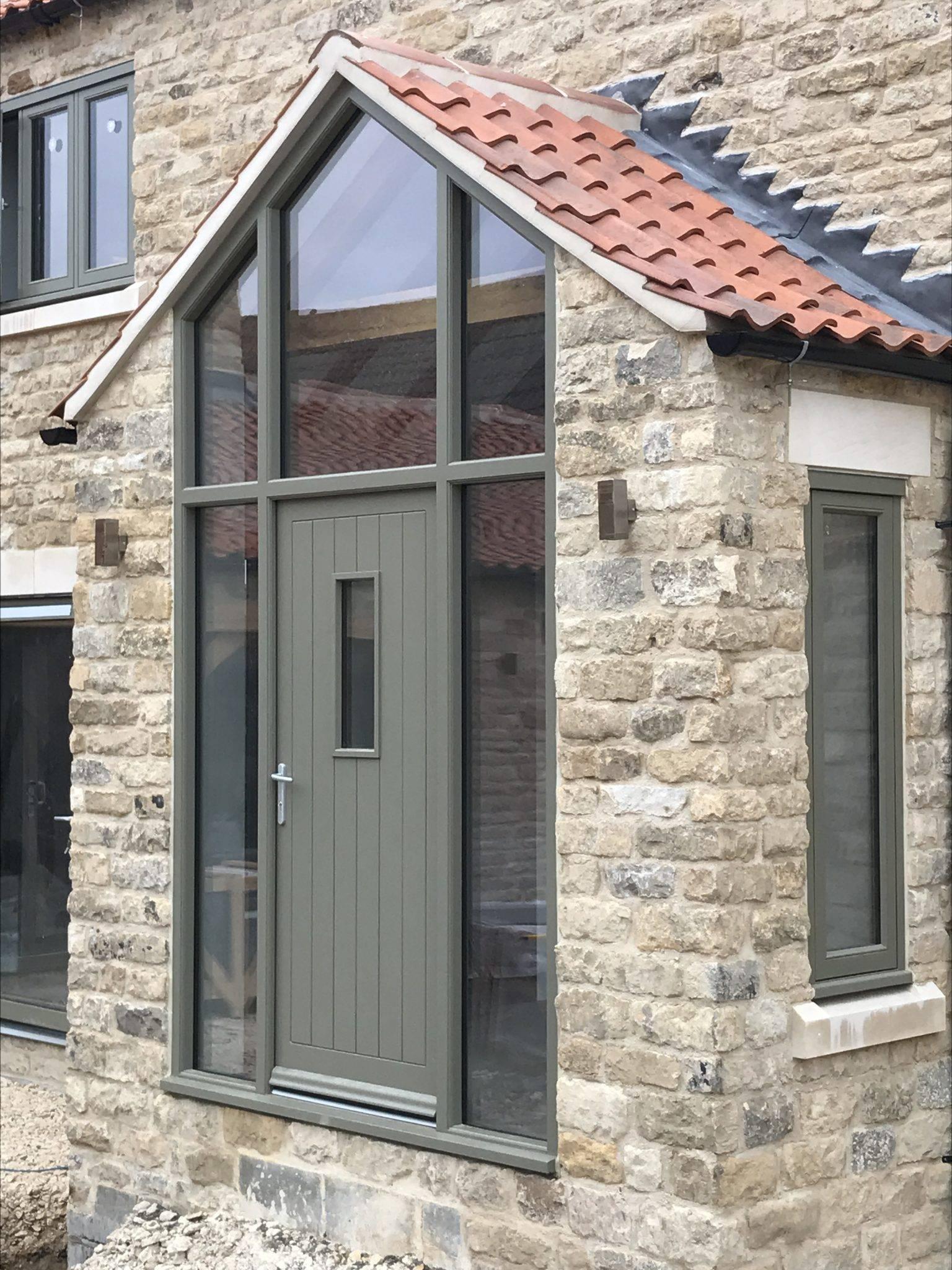 External Wooden Doors in Derbyshire