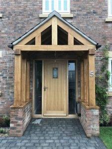 External Wooden Doors in Matlock