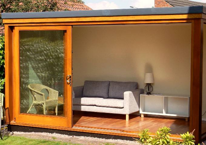 Garden Rooms in Derbyshire from Brinard Joinery