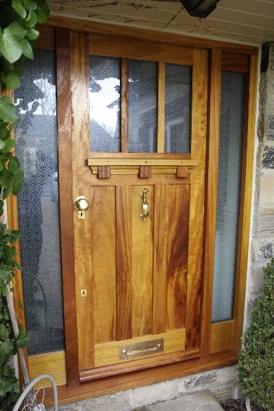 external accoya doors