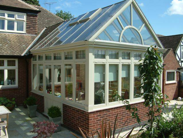 wooden conservatories