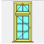 A rated timber Windows