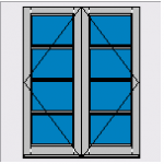 A rated timber windows in Derbyshire