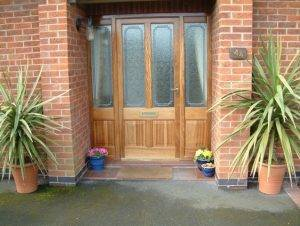 External Wooden Doors in Nottingham