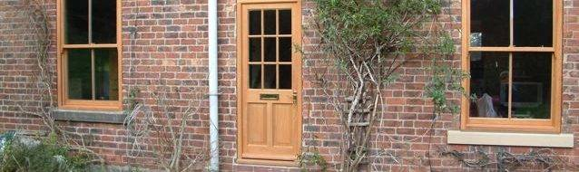 External wooden doors in Nottingham & External wooden doors in Nottingham - Brinard Joinery