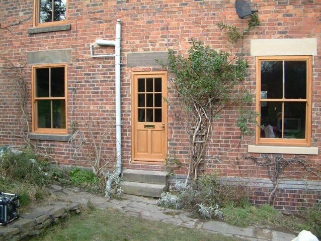 External wooden doors in Nottingham