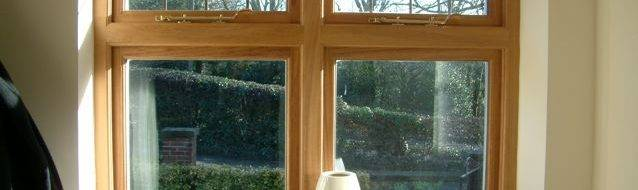 Accoya timber windows in Sheffield