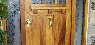 External wooden doors in Leicestershire