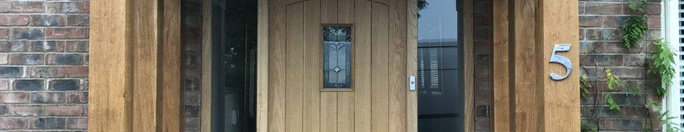 external wooden doors in Derby