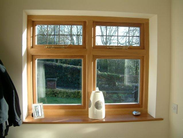 timber windows in Sheffield